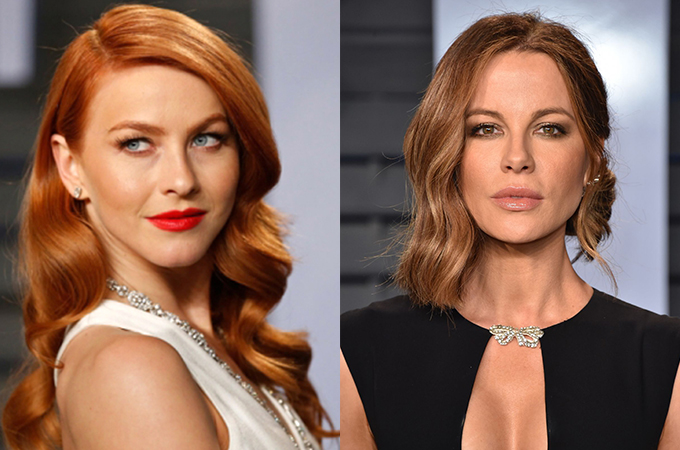 Maquiagem Julianne Hough e Kate Beckinsale Oscar 2018